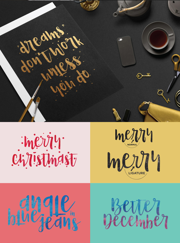 Naira Free Font Letters