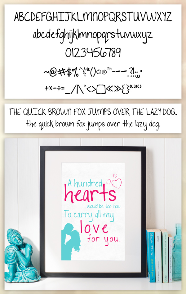 To The Point Font Free Font Letters