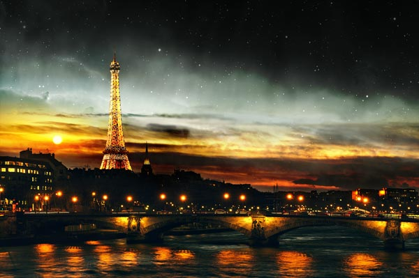 How to Create a Day Night Scene Photo Manipulation in Photoshop