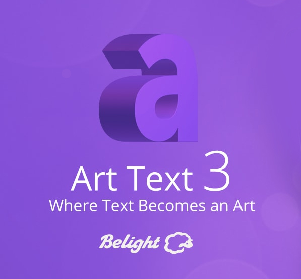 Artistic 2D and 3D Text Effects without Photoshop