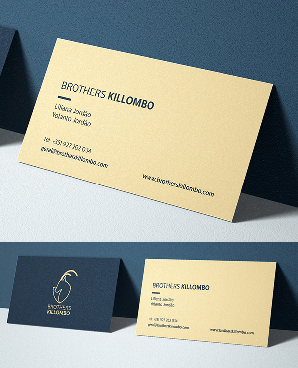 Branding: Brothers Killombo - Business Card
