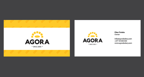 Branding: Agora - Business Card