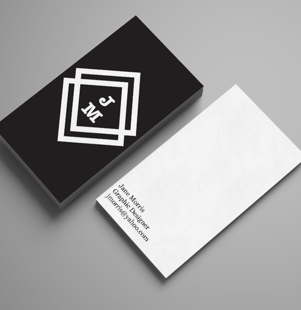 Branding: Jane Morris - Business Card