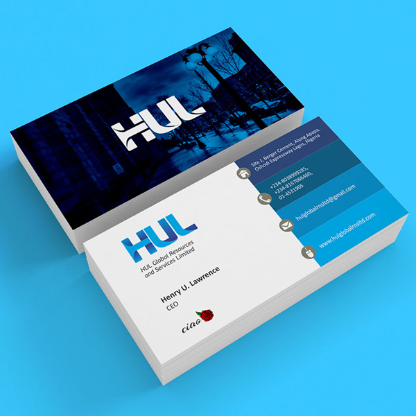 Branding: HUL- Business Card