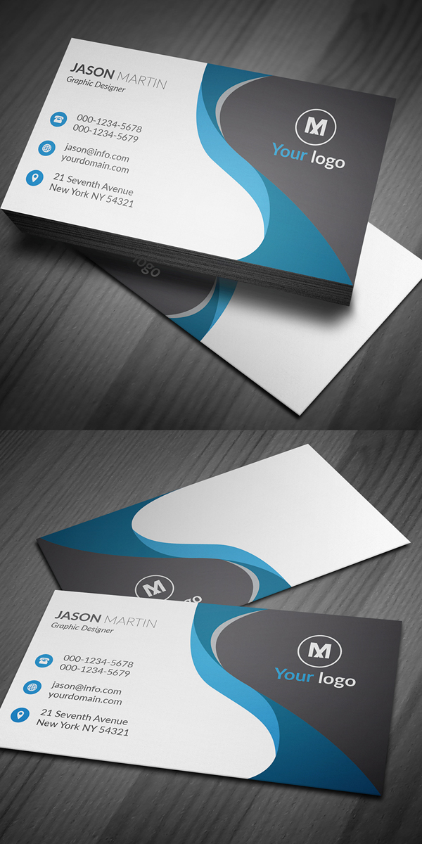 27 new professional business card psd templates design