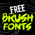 Post thumbnail of 40 Best Free Brush Fonts for Designers