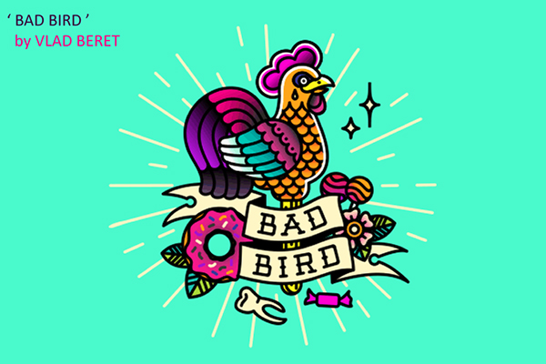 50 Creative Rooster Logo Designs for Inspiration - 21