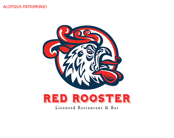 50 Creative Rooster Logo Designs for Inspiration - 35
