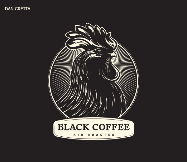 50 Creative Rooster Logo Designs for Inspiration - 38