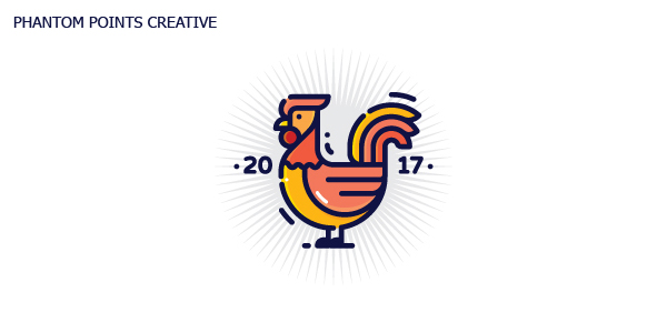 50 Creative Rooster Logo Designs for Inspiration - 46