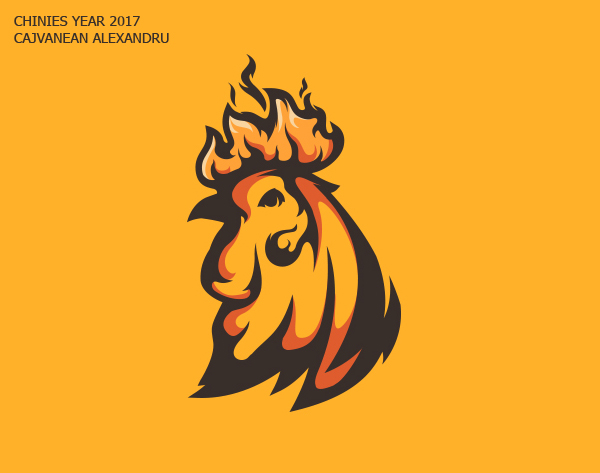 50 Creative Rooster Logo Designs for Inspiration - 50