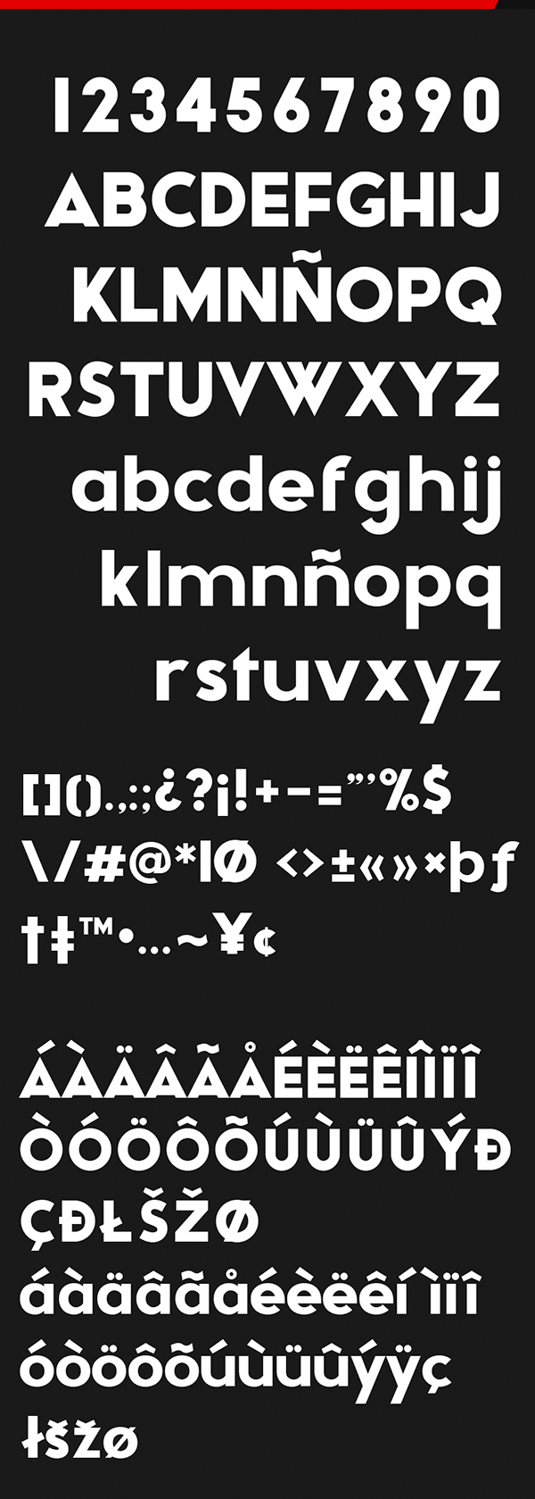 Adca Font Letters