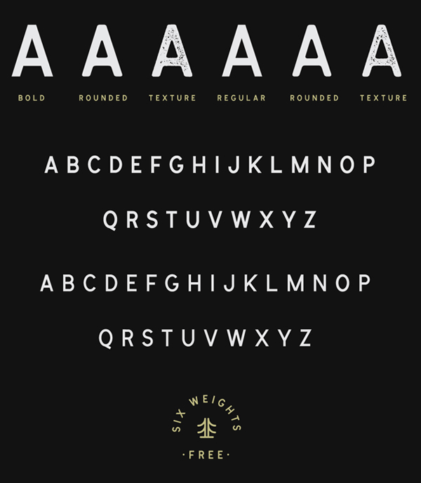 Cymbria Font Letters