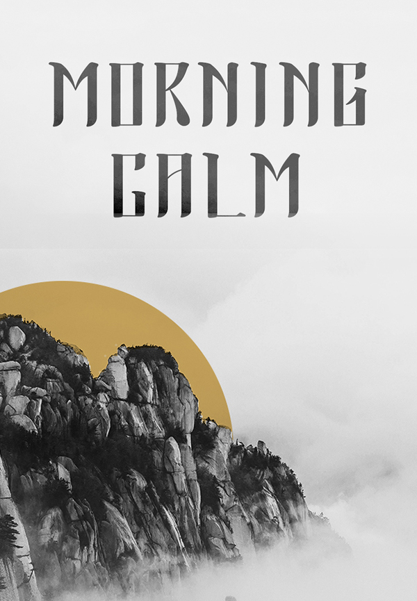 Morning Calm Free Font