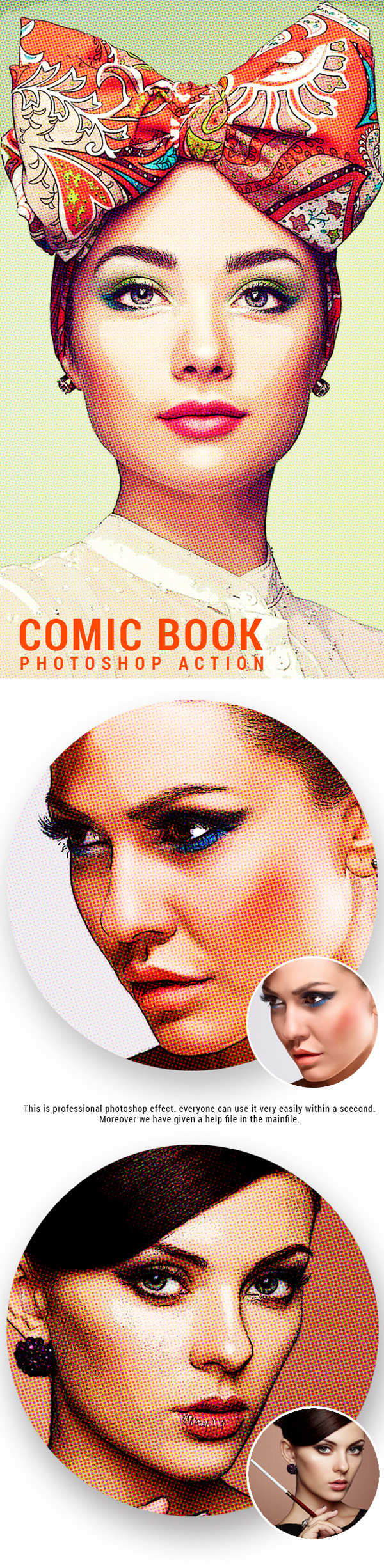 Comic Book Photoshop Action