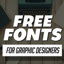 Free Fonts – 18 New Fonts For Designers