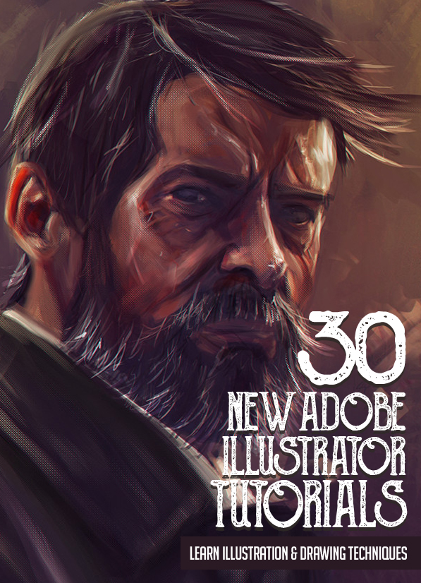 Illustrator Tutorials: 30 New Tutorials to Learn Illustration and Drawing Techniques