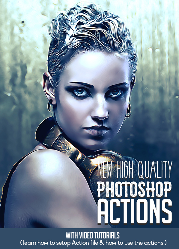 New High Quality Photoshop Actions for Photographers & Designers