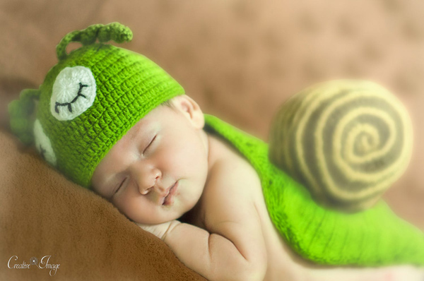 Cute Newborn Baby Photography - 13