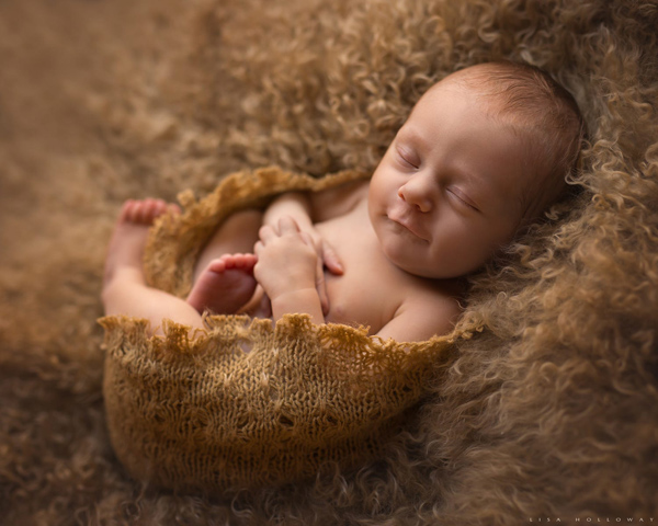 Cute Newborn Baby Photography - 14