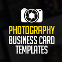 Creative Photography Business Card PSD Templates