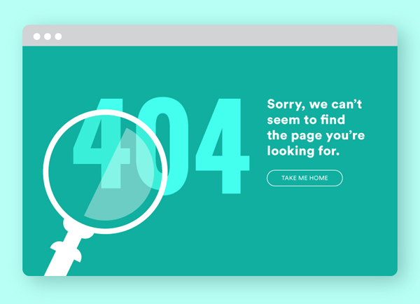 Big bold formatting and typography in Web Design