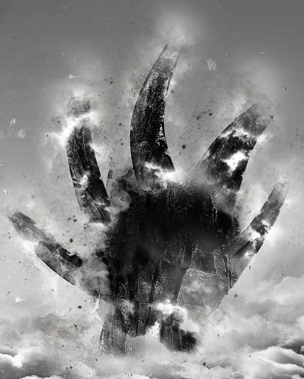 Create 'Hand in the Cloud' Abstract Digital Art in Photoshop