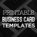 Post Thumbnail of New Printable Business Card Templates