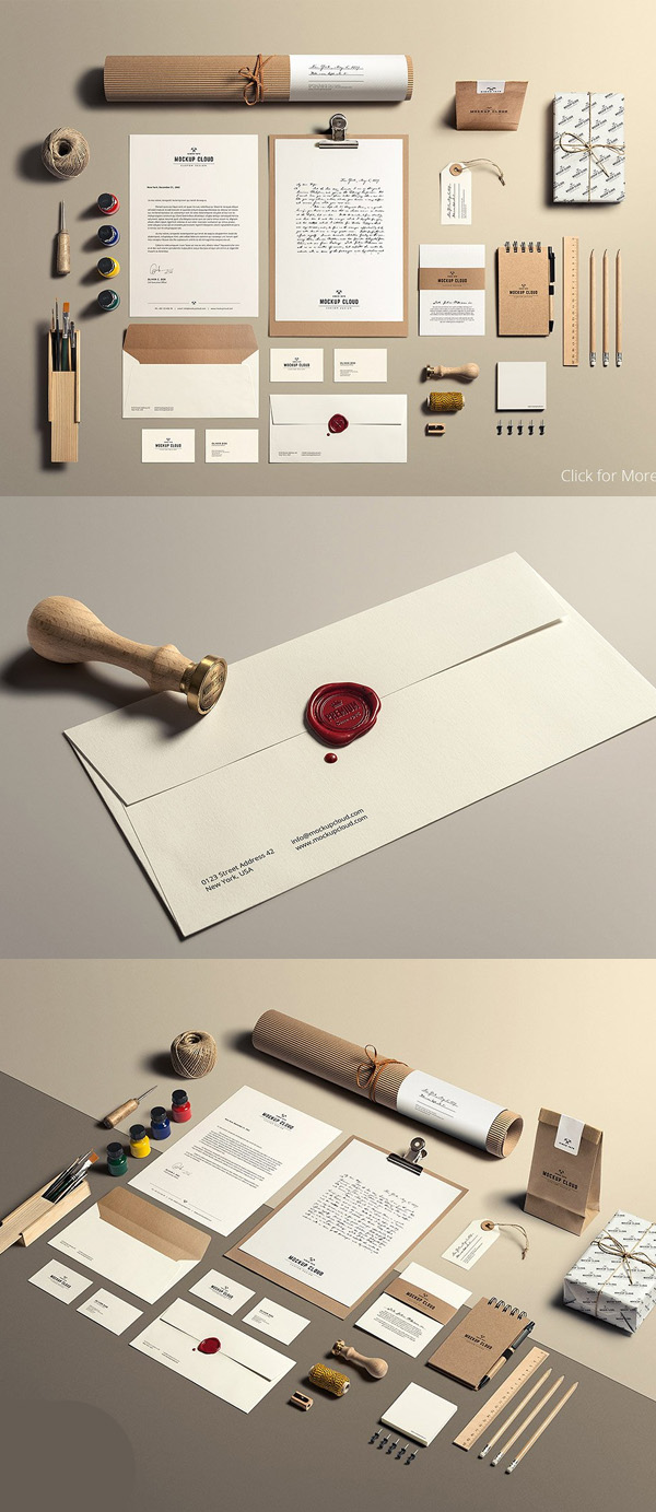 Art & Craft / Stationery Mock-Up