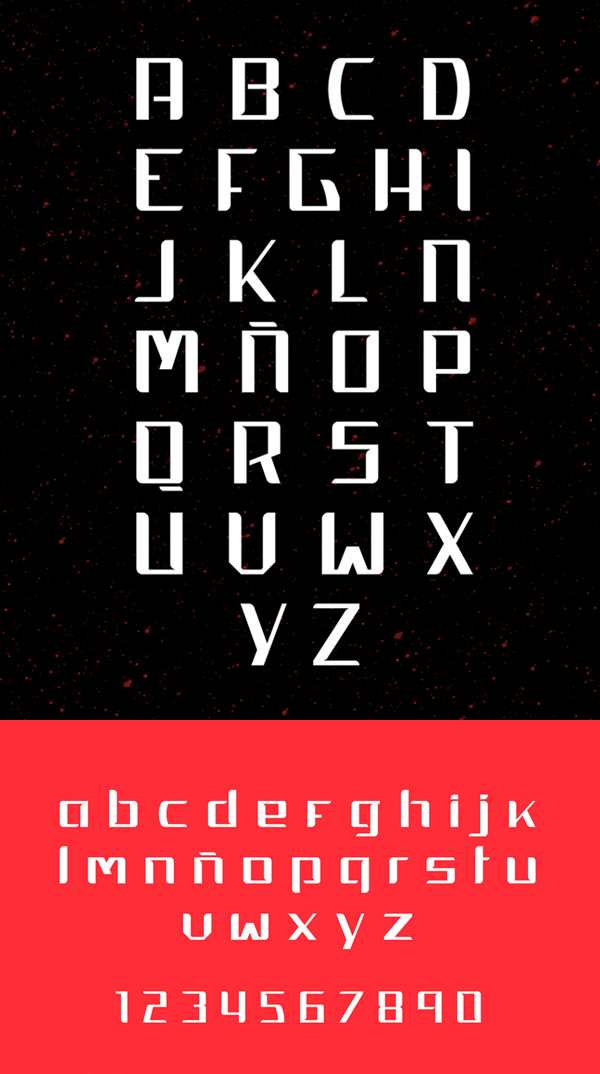 RounD Font Letters
