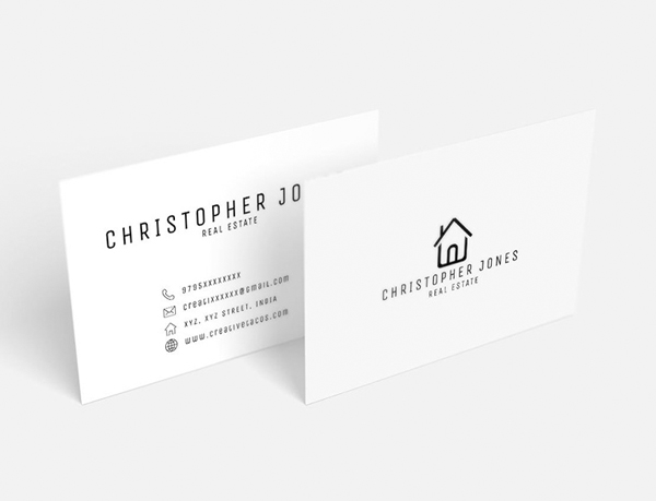 26 Modern Free Business Cards PSD Templates - 8