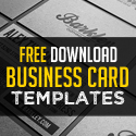 Post Thumbnail of 26 Modern Free Business Card Templates - PSD Print Ready Design