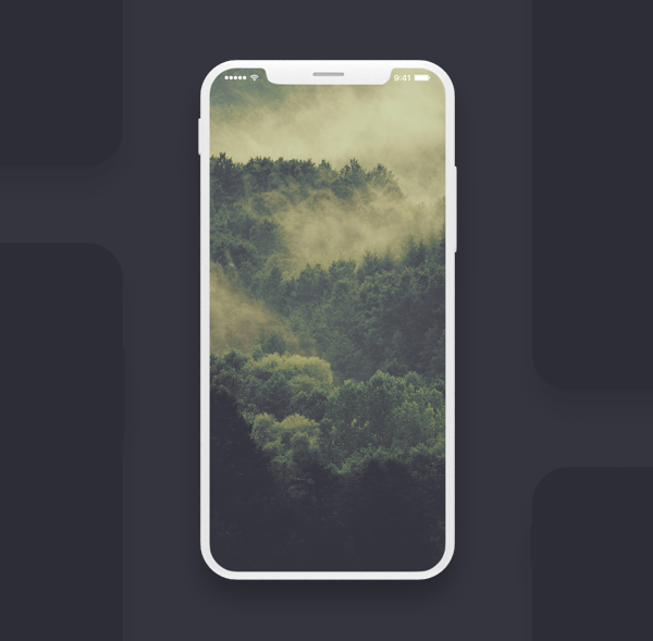Free Download iPhone X PSD Mockups and Sketch - 21