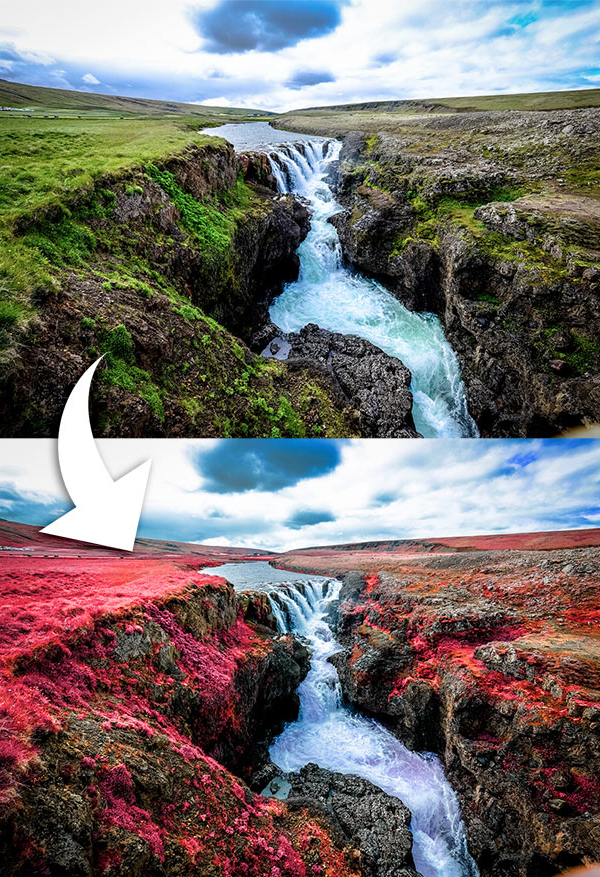 How To Create an Infrared Photo Effect in Adobe Photoshop