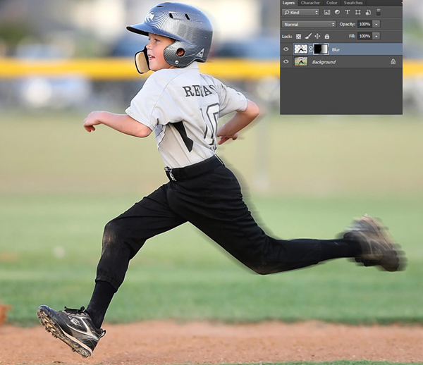 Learn How To Create a Motion Blur Effect in Photoshop