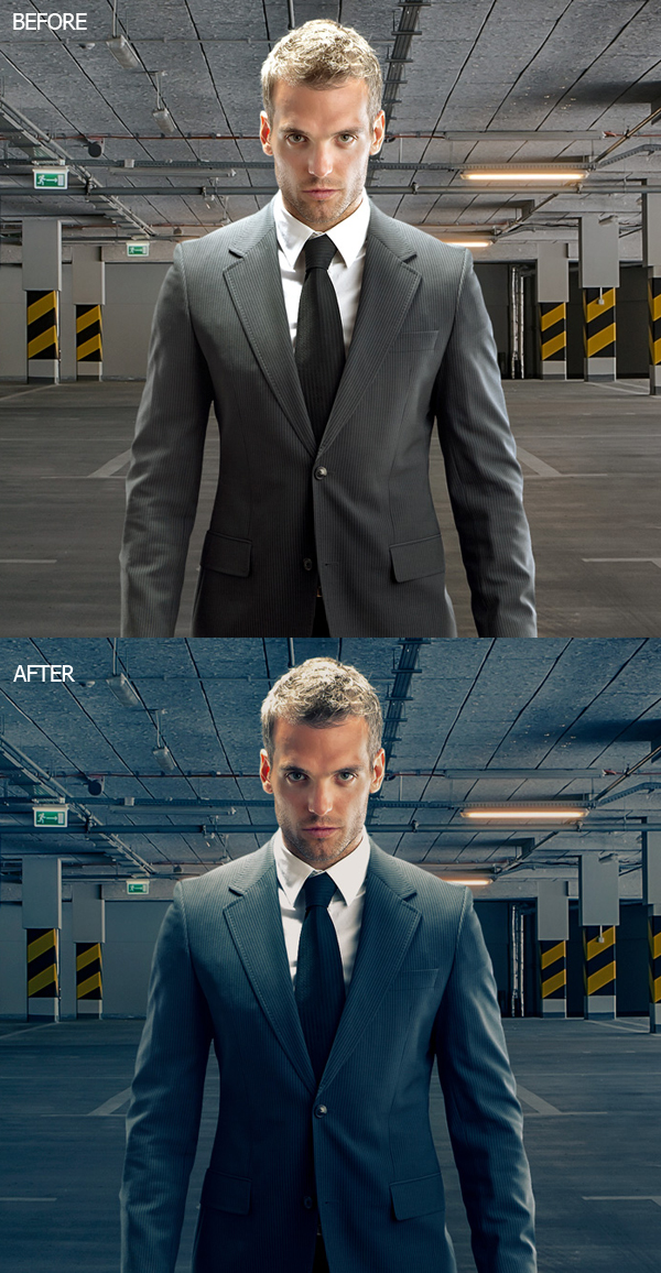 Cinematic Color Grading (Movie Look Effect) in Photoshop – Video Tutorial