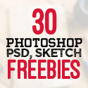 Post Thumbnail of 30 New Useful Free Photoshop PSD Files for Graphic Designers