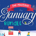 Post Thumbnail of The Massive January Bundle (83 Fonts & 1800+ Handcrafted Graphics)