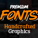 Post Thumbnail of Custom Fonts - 83 Fonts with 1800+ Amazing Handcrafted Graphics