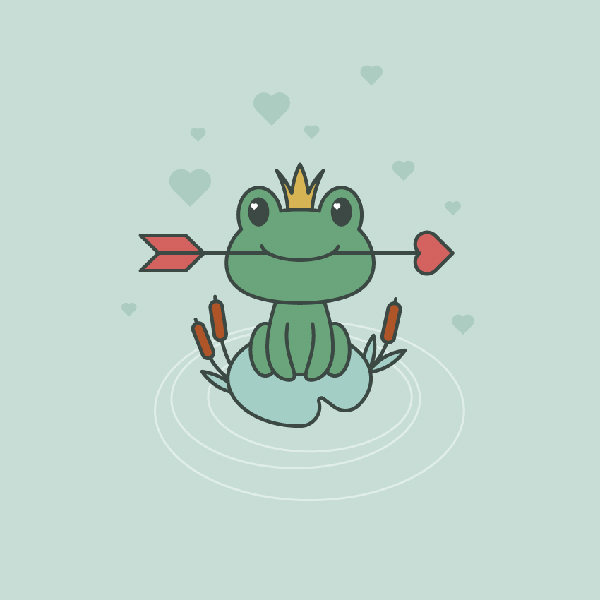 How to Create a Frog Princess Illustration in Adobe Illustrator