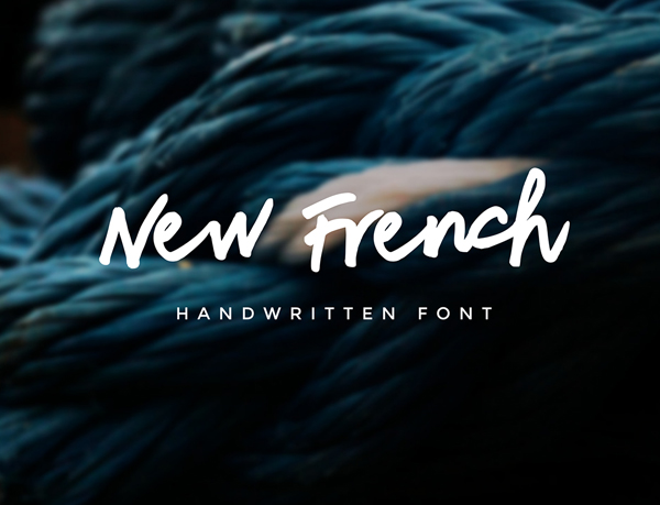 New French Free Font