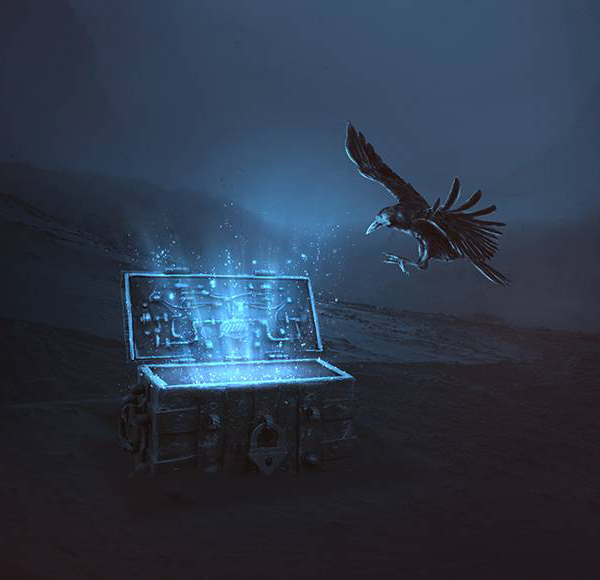How to Create a Magical Chest Photo Manipulation With Adobe Photoshop