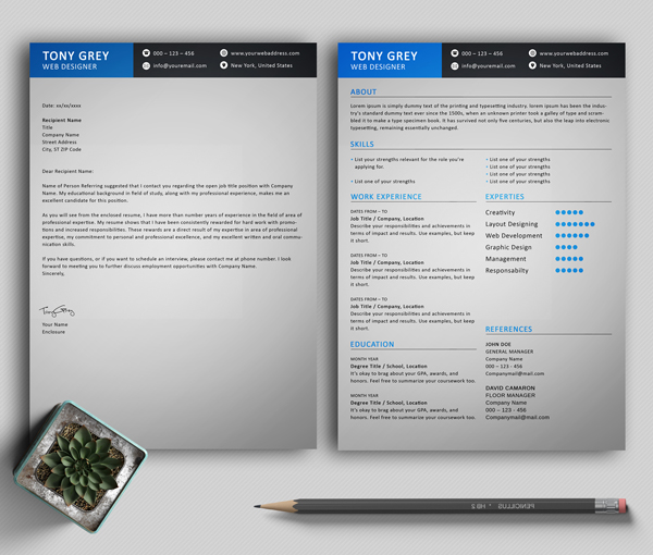 50 Free Resume Templates: Best Of 2018 -  17