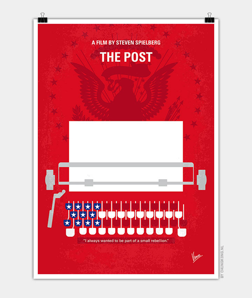 The Post Minimal Movie Posters - 1