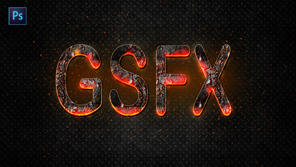 How to Create Fire Text Effect in Photoshop CC Tutorial