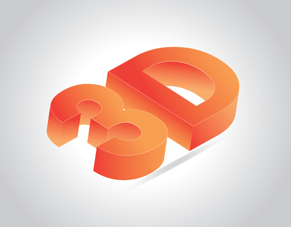 How to Create 3D Text Effect in Adobe Illustrator Tutorial