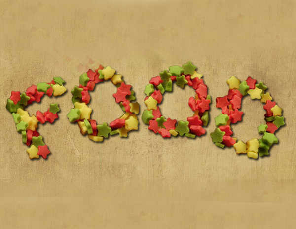 How to Create a Stars Candy Text Effect in Adobe Photoshop