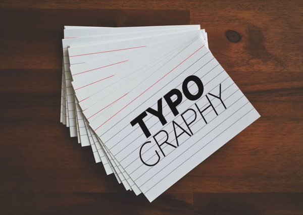 Typography for logos