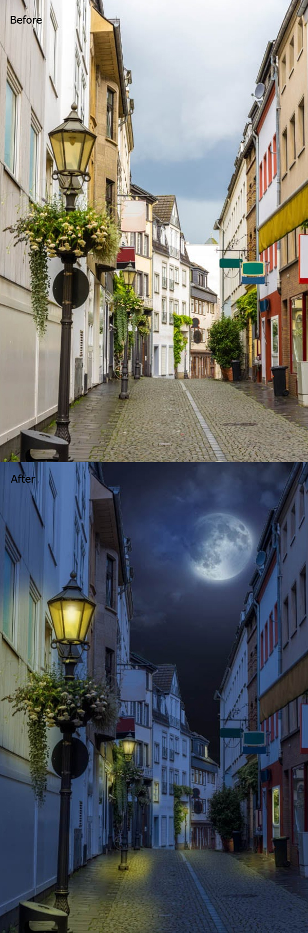 How to Turn Day into Night in this Photoshop Tutorial
