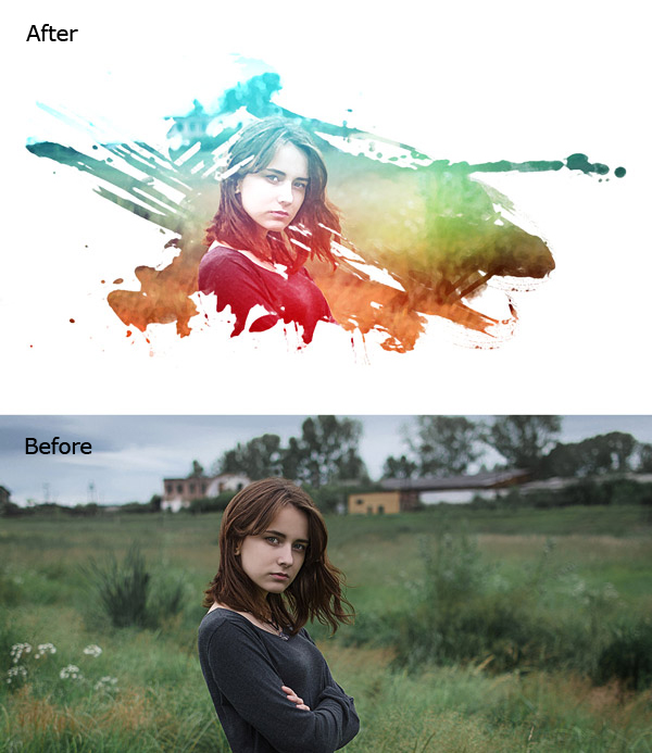 How to Create a Watercolor Effect in Photoshop
